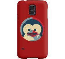 Linux tux penguin obama poster baby  Samsung Galaxy Case/Skin