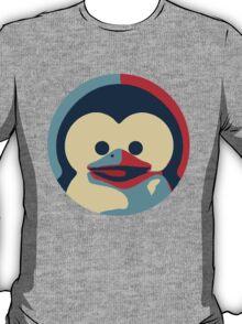 Linux tux penguin obama poster baby  T-Shirt