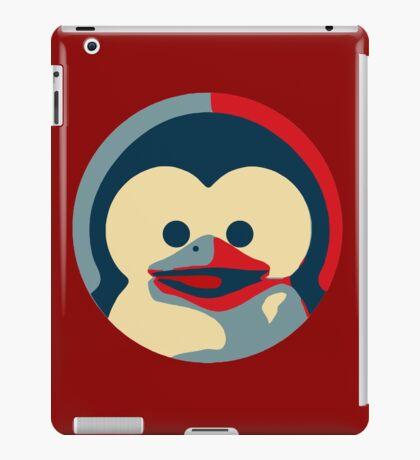 Linux tux penguin obama poster baby  iPad Case/Skin