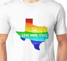 Texas Marriage Equality Unisex T-Shirt