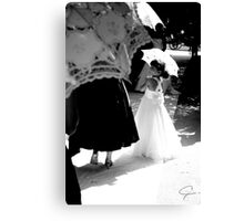flower girl Canvas Print