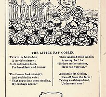 Miniature Under the Window Pictures & Rhymes for Children Kate Greenaway 1880 0047 The Little Fat Goblin by wetdryvac