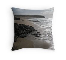 Swirling Tide Throw Pillow