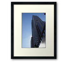 New York - Skyscraper Framed Print