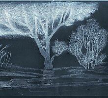 Lone tree by Sendao by LadyE