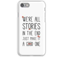 DOCTOR WHO STORIES iPhone Case/Skin