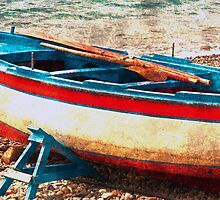 Waiting for Tide- Marina Del Cantone Italy by Rebelle