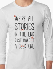DOCTOR WHO STORIES Long Sleeve T-Shirt