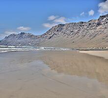 Famara, Lanzarote by dgbimages