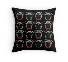 Cool Pugs Throw Pillow