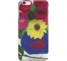 Lovely Vase And Roses iPhone Case/Skin