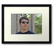 Tom Cruise was at the park???????? Framed Print