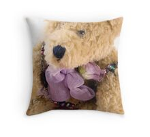 All dressed up.. Throw Pillow