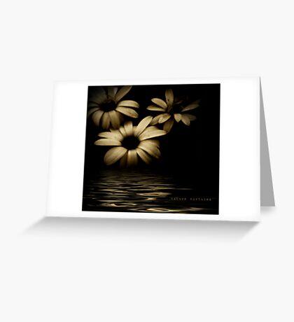 Nature nurtures Greeting Card
