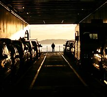 Ferry Car Deck - San Juan Islands, WA, May 2004 by nicholasclewis
