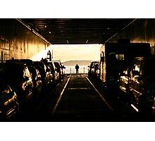 Ferry Car Deck - San Juan Islands, WA, May 2004 Photographic Print