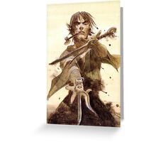 Blade Of The Immortal Greeting Card