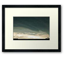 climate change Framed Print