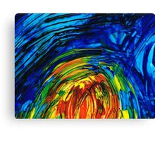 Colorful Abstract Art - Energy Flow 6 - By Sharon Cummings Canvas Print