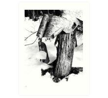 Shedding a Winter Coat Art Print