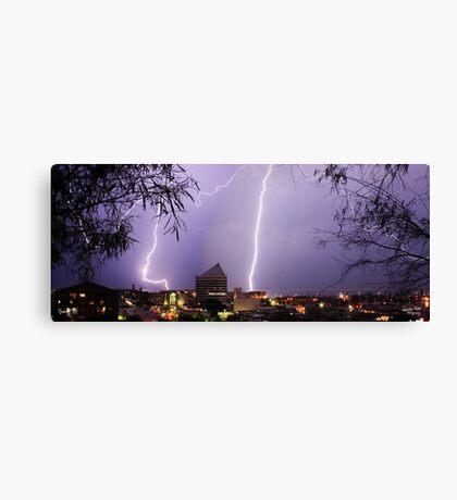 Bunbury Lightning Canvas Print