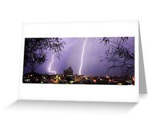 Bunbury Lightning Greeting Card