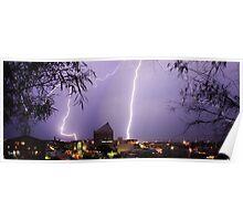 Bunbury Lightning Poster