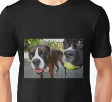 Let's Play! -Boxer Dogs Series- Unisex T-Shirt