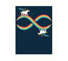 Infinite Magic! Art Print