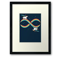 Infinite Magic! Framed Print
