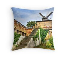OLD Windmill in Potzdam Germany Throw Pillow
