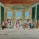 My Rendition of the Last Supper by tonyanicole