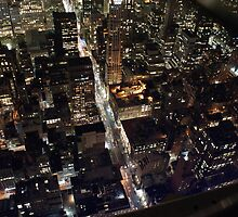 New York - Don't Look Down by Jeffrey Lamprey