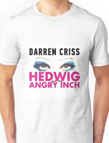 Darren Criss in Hedwig and the Angry Inch Unisex T-Shirt