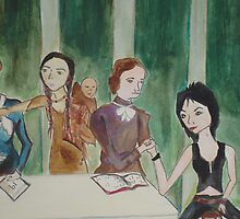 Last Supper Detail by tonyanicole