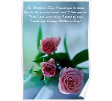 Mother's Day Card 1 Poster