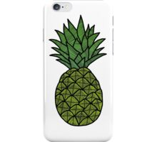 Fluro Pineapple Sticker iPhone Case/Skin
