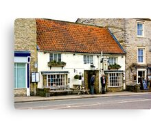 Pickwicks Bar  - Helmsley Canvas Print