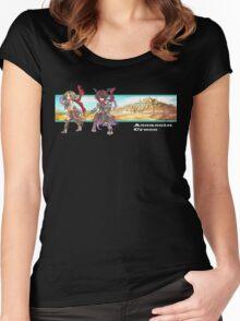 [RO1] Transcendent Assassin Cross Women's Fitted Scoop T-Shirt