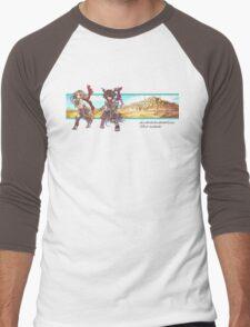 [RO1] Transcendent Assassin Cross Men's Baseball ¾ T-Shirt