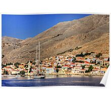 Halki from out on the bay Poster