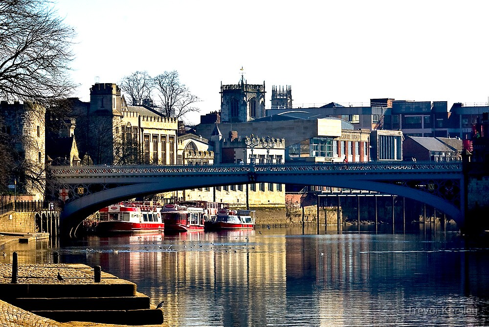 River Ouse View - York by Trevor Kersley