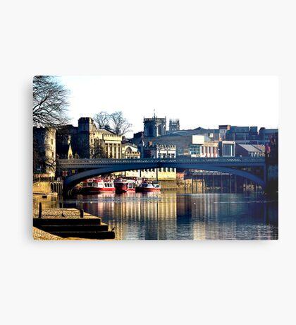 River Ouse View - York Metal Print
