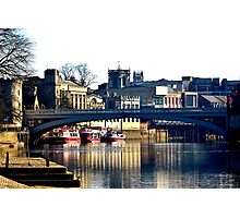 River Ouse View - York Photographic Print