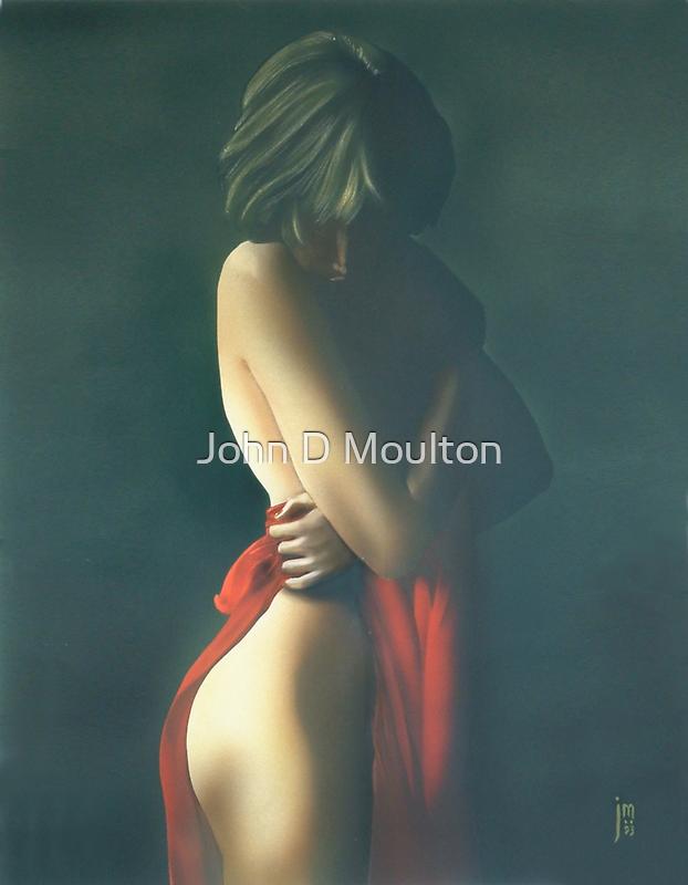 """Solitude"" Water Colour Artwork by John D Moulton"