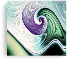 Wave Goodbye Canvas Print