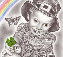 Lucky clover by Renata Cavanaugh