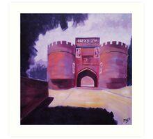 'Skipton Castle' Art Print