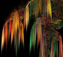 Weeping Fractal by Julie Everhart