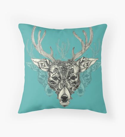 Noble Heart Throw Pillow